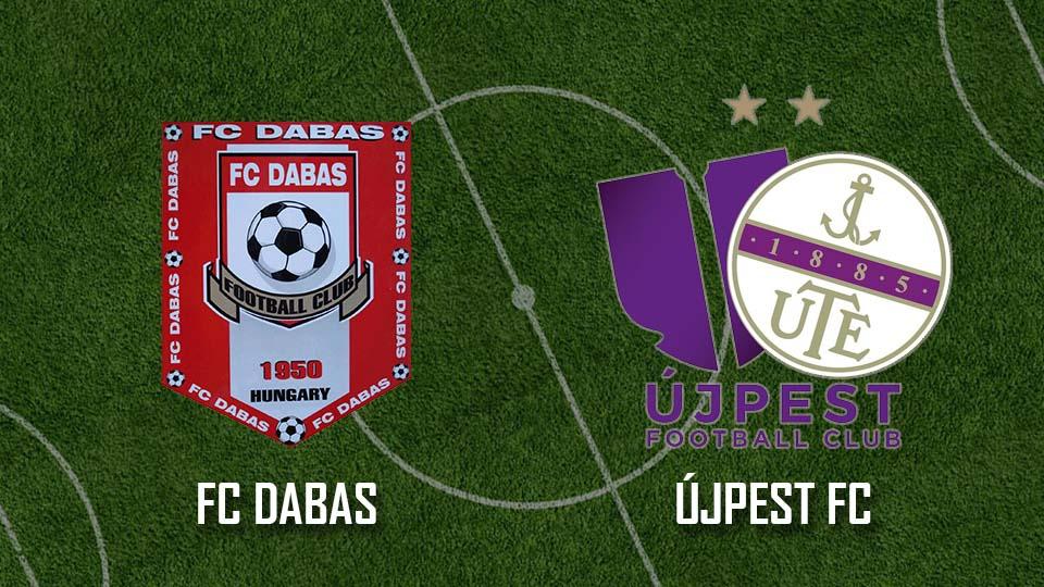 Beharangozó: FC Dabas – Újpest FC II