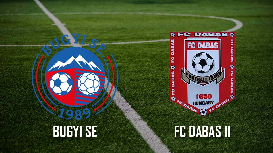 Read more about the article Bugyi SE – FC Dabas II (3:0)