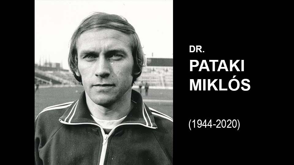 GYÁSZ: Elhunyt dr. Pataki Miklós