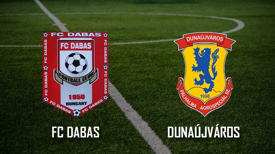 Read more about the article Beharangozó: FC Dabas – Dunaújváros