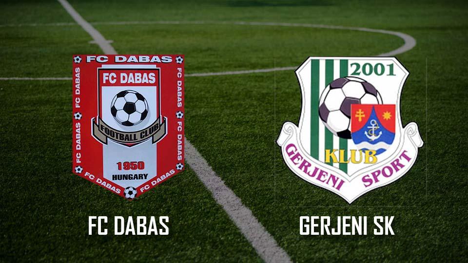 Read more about the article Beharangozó: FC Dabas – Gerjeni SK