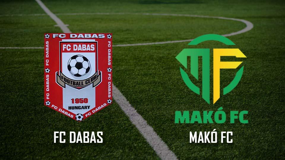 Read more about the article Beharangozó: FC Dabas – Makó FC